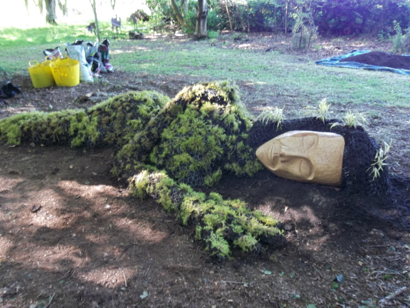 Living Sculpture