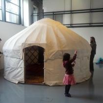 Yurt in the DCA